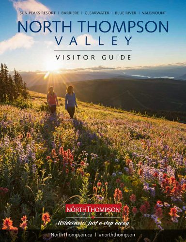 Cover image for the North Thompson Valley visitor guide, British Columbia, Canada