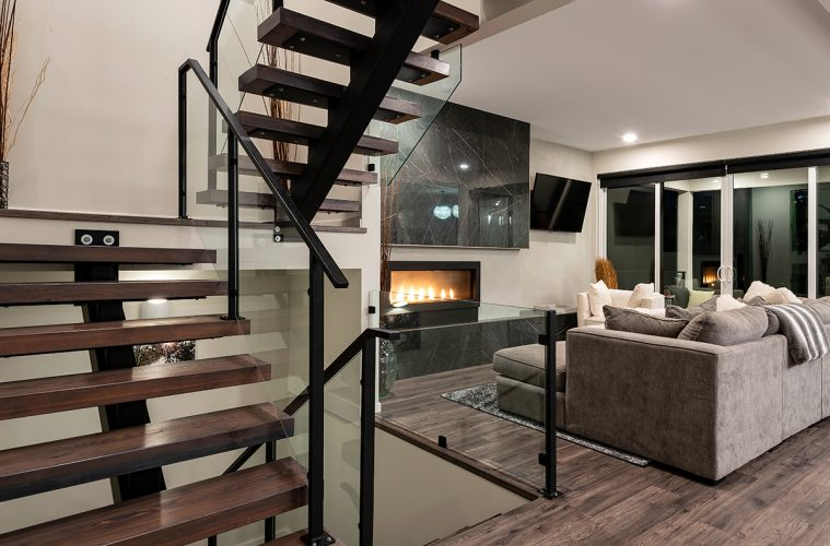 Architecture image of a beautiful home by a developer in Kamloops, British Columbia, Canada