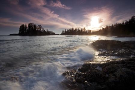 Tofino Sunset, British Columbia, Canada, coast, ocean, beach