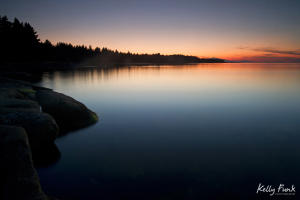 Hornby Island, Gulf Islands of British Columbia at sunset, Kelly Funk, Canada, Kamloops professional photographer