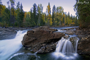 Mushbowl falls, Wells Gray Provincial Park, British Columbia, Canada, Kelly Funk, professional photographer, Kamloops, commercial