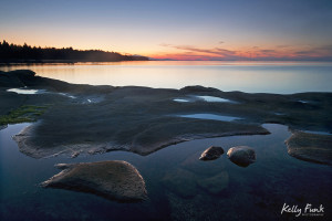 Hornby Island, British Columbia, Canada landscape, sunrise, Kelly Funk, commercial photographer, professional, Kamloops, Thompson Okanagan region