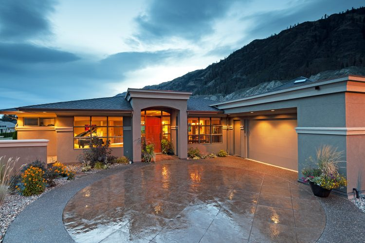 Home photographed for a builder / developer in Kamloops, British Columbia, Canada