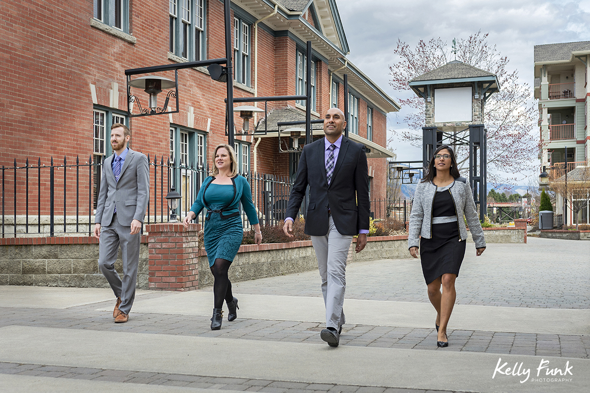 Portrait of law partners of a firm in Kamloops, British Columbia, Canada