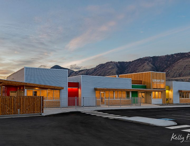 Client: gta Architecture - Kamloops Kidz Learning Center