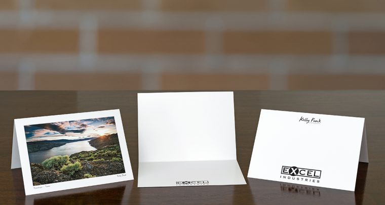 Kamloops Corporate Greeting Card Client:  Excel Industries