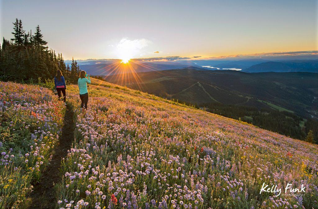 the village of sun peaks resort, kamloops, british columbia, thompson okanagan region, canada