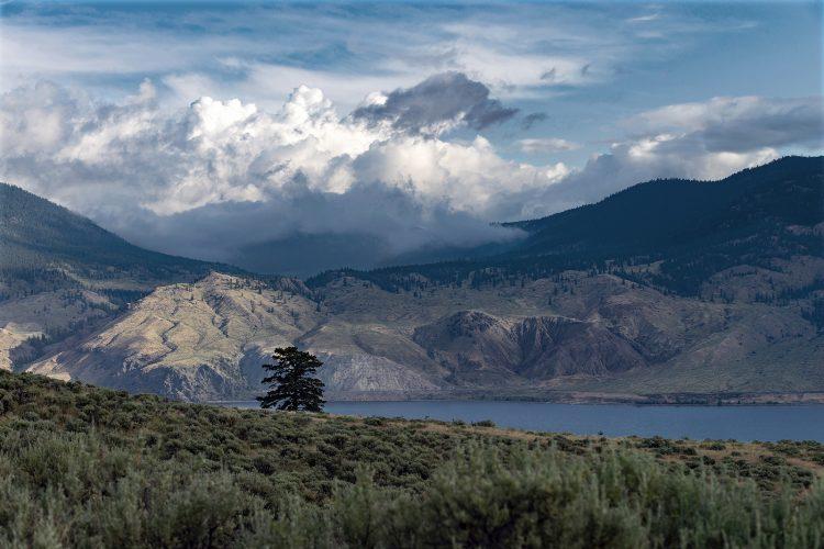 commercial image of Kamloops lake, Kamloops, British Columbia, Canada. Thompson Okanagan region