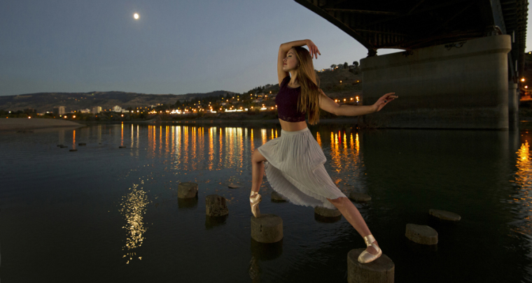 The making of 'Moonlight Escape' - From the 'Ballerina Series'
