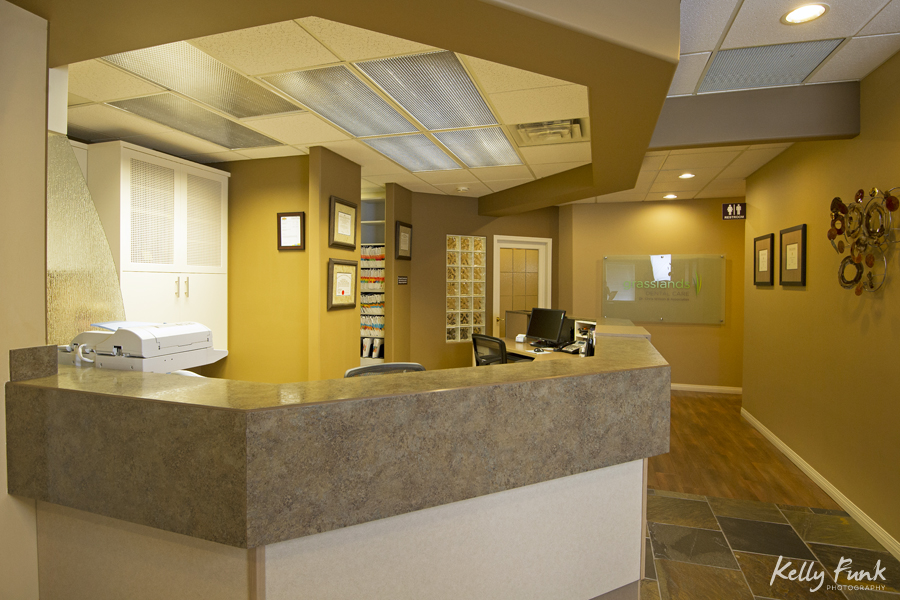 Commercial image showing reception area, Kamloops, British Columbia, Canada, Kamloops photographer, commercial photographer, portrait, Kelly Funk
