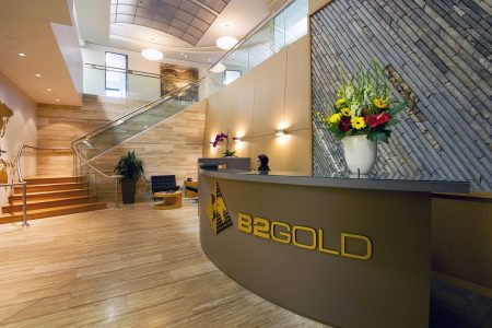 Front office and architecture commercial image of a gold company in Vancouver, British Columbia, Canada