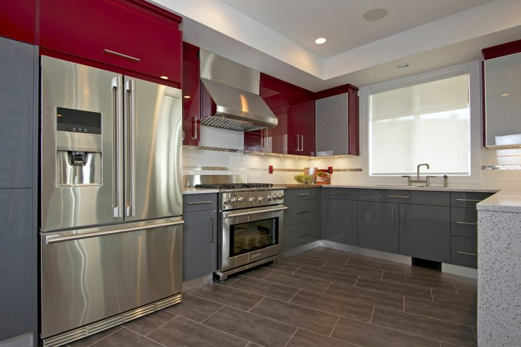 new home and kitchen for a developer and builder in Kamloops, British Columbia, Canada