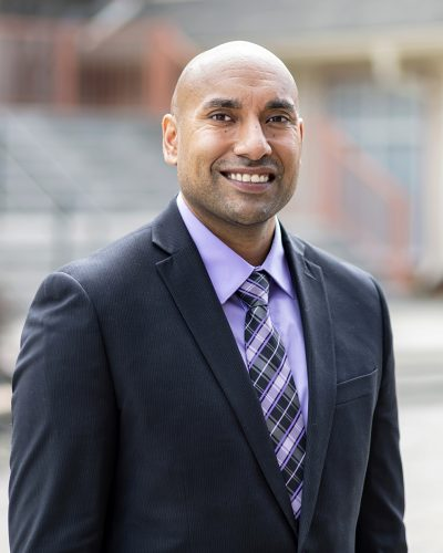 Founding partner of Chahal and Priddle law firm poses for a portrait in downtown Kamloops, British Columbia, Thompson Okanagan, Canada