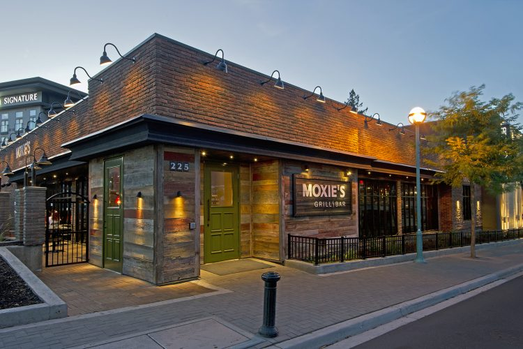 External image of Moxie's restaurant in Kamloops, British Columbia, Thompson Okanagan region, Canada