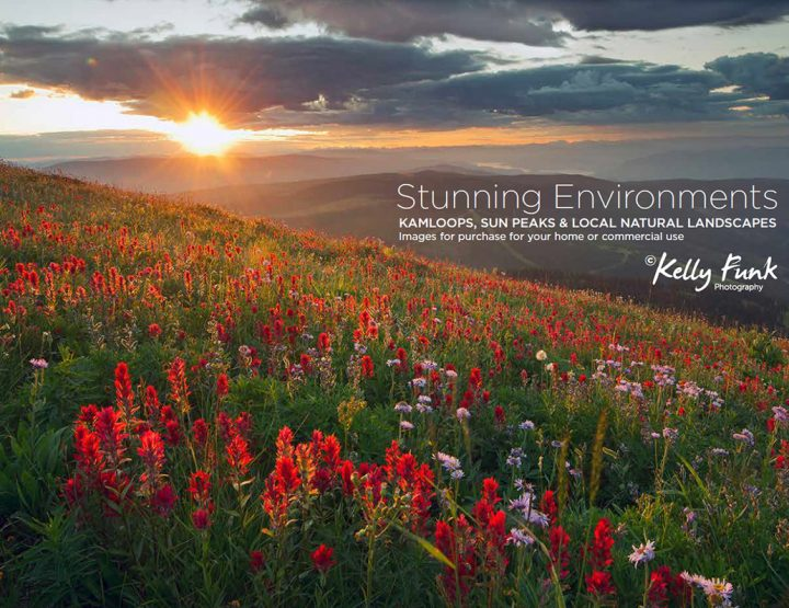 'Stunning Environments' - Kamloops & Sun Peaks Images for Home and Office.