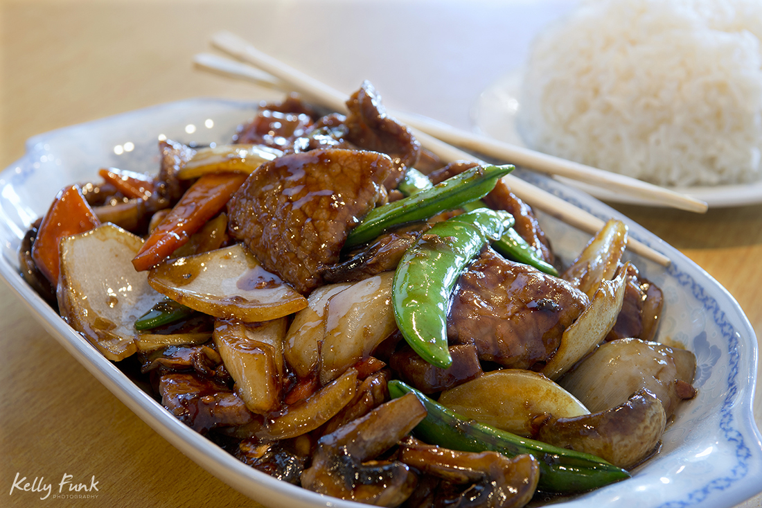 Portrait of Chinese food, Kamloops, BC, Canada