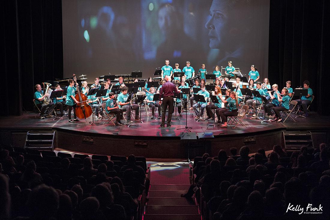 Presentation from the Kamloops Interior Summer School of Music for Kids, Sagebrush Theatre, British Columbia, Canada