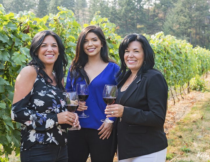 Kelowna's 'Indigenous World Winery' Shoot.