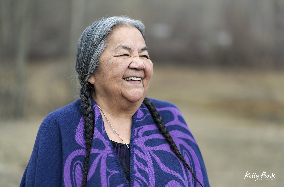Portrait of an Elder, near Cache Creek, British Columbia, Canada