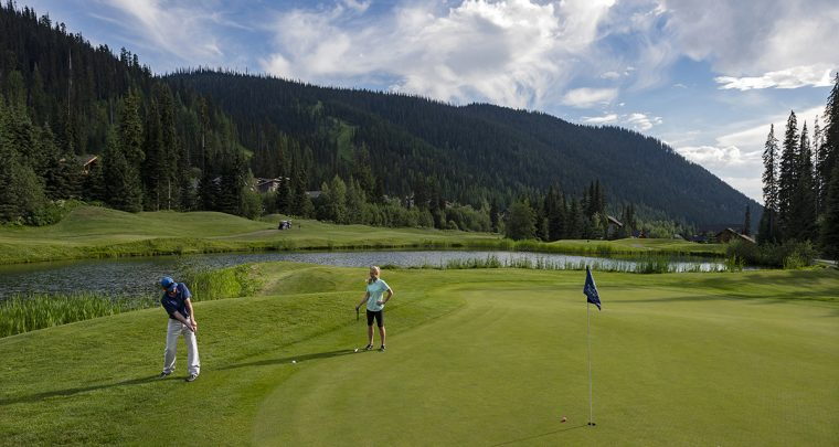 Sun Peak Resort Golf - 6400 Yards of Mountain High
