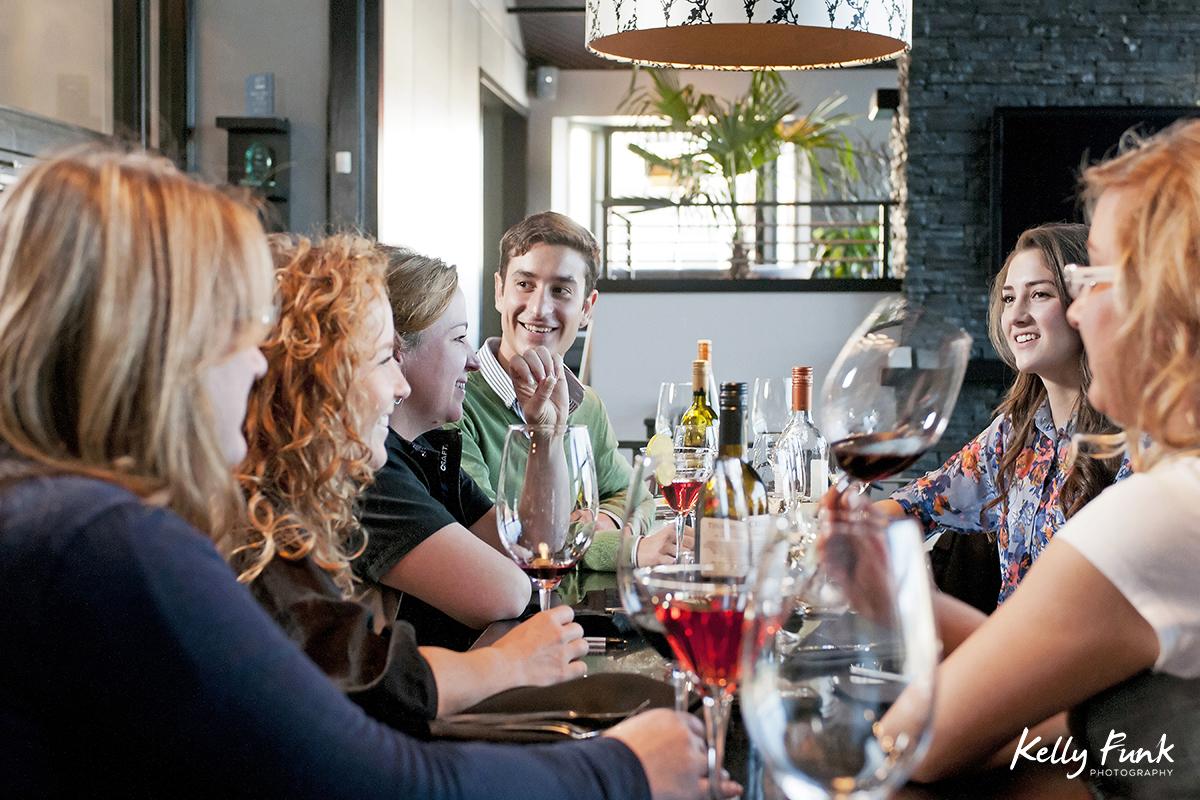 Having dinner at The Local Lounge & Grille, Summerland, British Columbia, Okanagan region, Canada