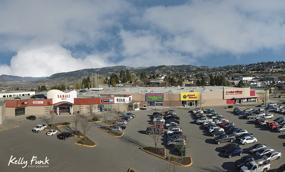 aerial imagery for corporation, Kamloops, British Columbia, Canada