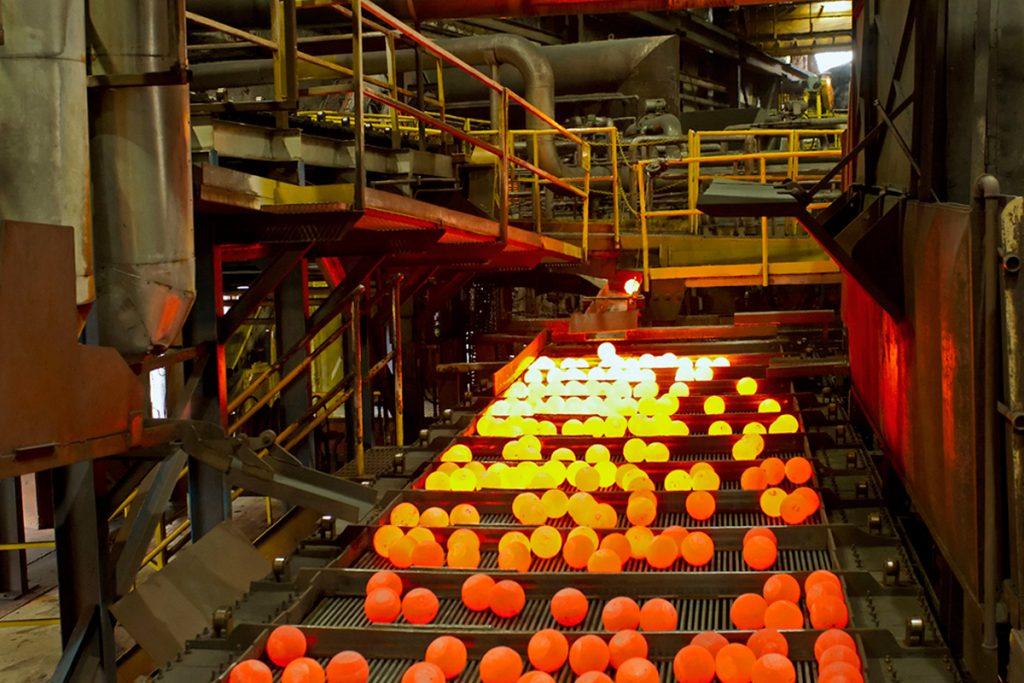 Heavy industry at Molycop, Kamloops, BC, Canada, Thompson Okanagan