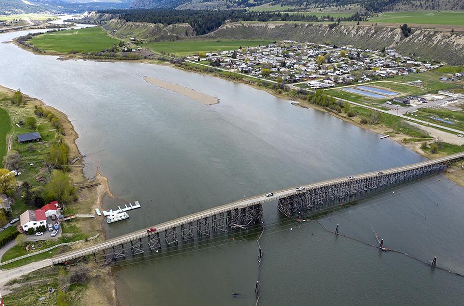 aerial drone bridge