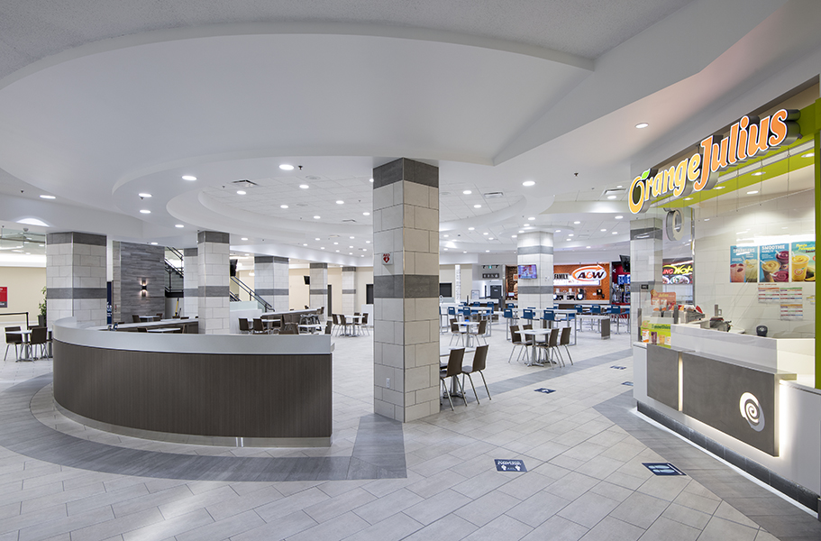 Aberdeen mall food court