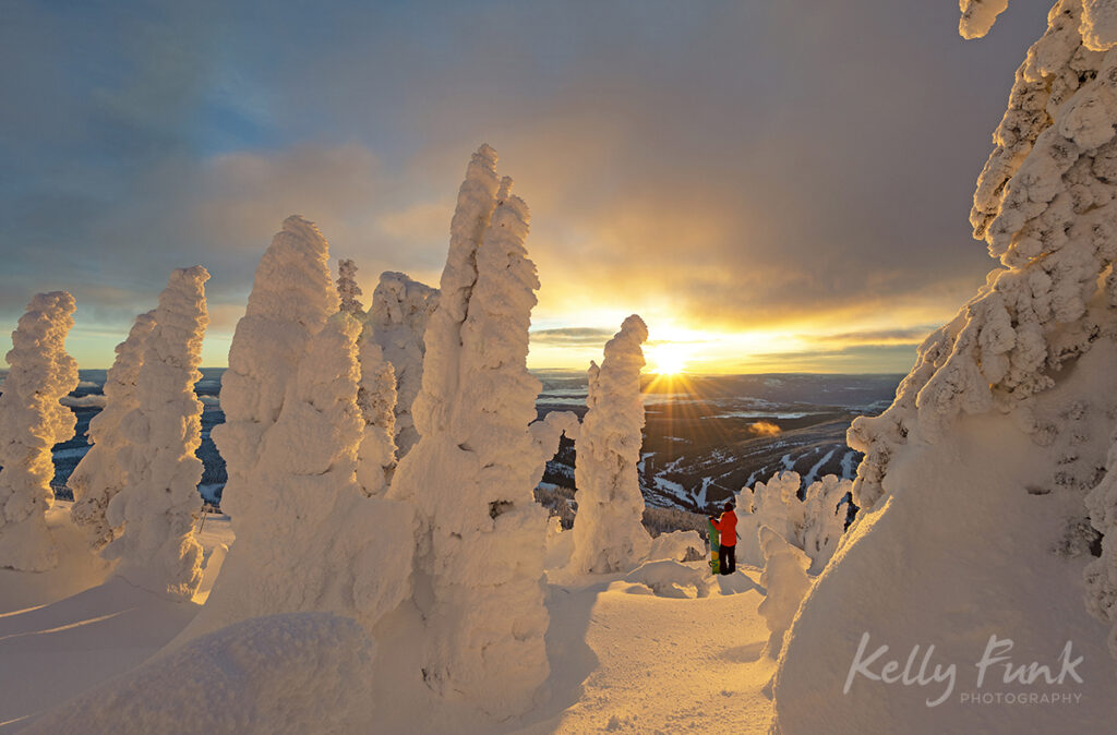 Sun Peaks snow ghosts