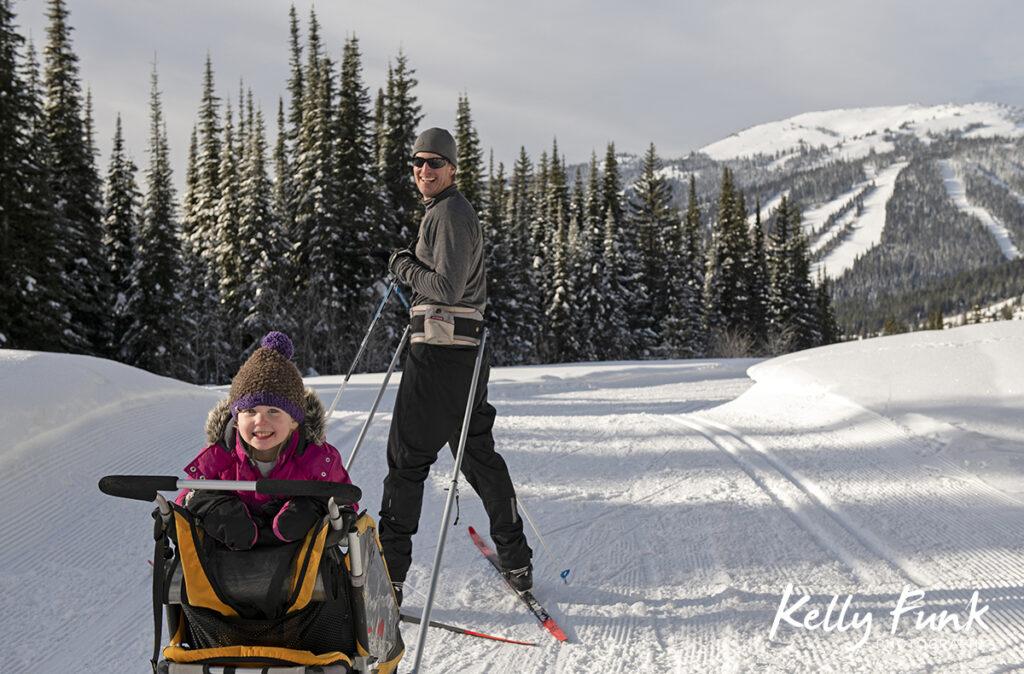 Family day at Sun Peaks Resort