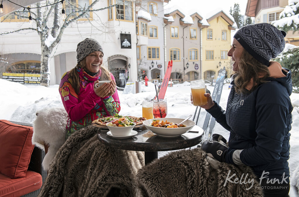 Apres ski dining