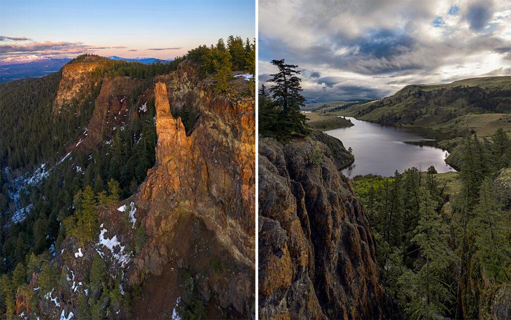 The Pinnacle and Napier Lake