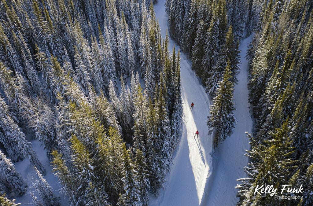 Sun Peaks nordic skiing