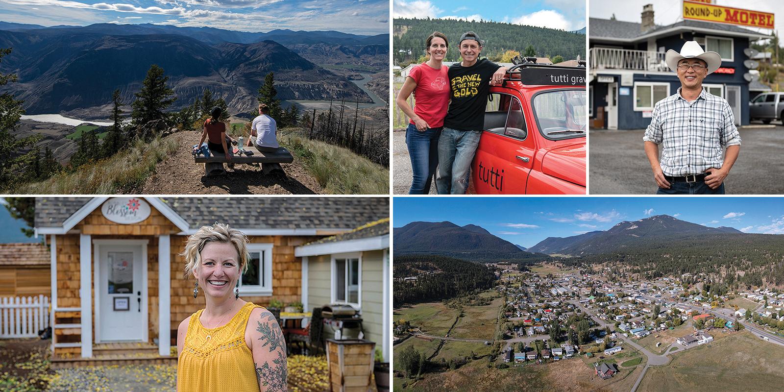Faces & Spaces | Clinton, BC
